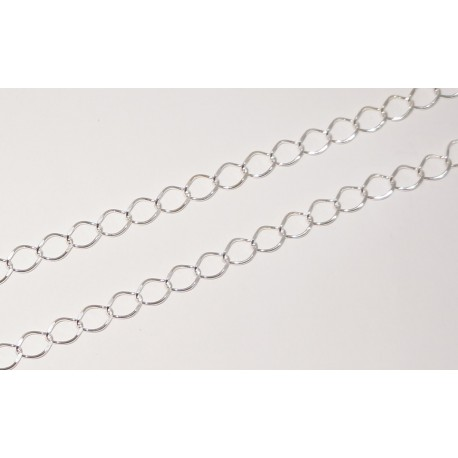 Chain by meter, curb chain