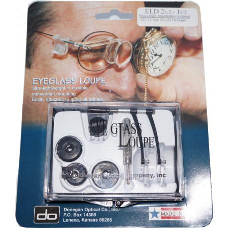 Eyeglass loupe ELD 2½ - 1½