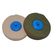 Cotton fabric polishing disc Ø 100 mm