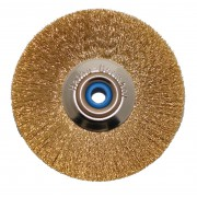Slimline brass brush Ø 51 mm, 1 pcs