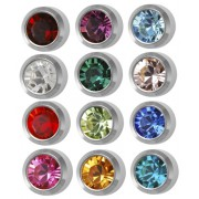 Studex piercing earrings, Ø 4 mm, assortments