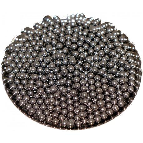 AISI 304 steel shots - satelite - pin