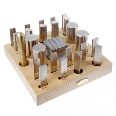 26 Piece Forming Tool & Block Set no. 117.500
