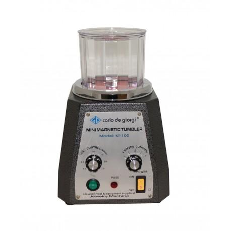 Mini magnetic tumbler
