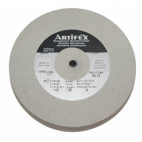 Artifex rubber wheel 50x20 mm