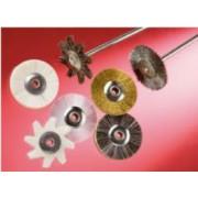 Steel brush wheels