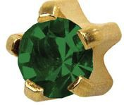 Smaragdi, kullattu