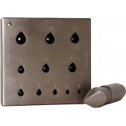 Bezel blocks and punches, drop