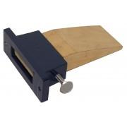 Bench pin in holder