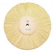 Brass brush Ø 85 mm