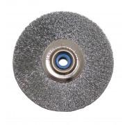 Slimline steel brush Ø 51 mm, 1 pcs