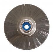 Kapea harjaslaikka ruostumattomasta teräksestä  Ø 51 mm, 1 kpl