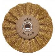Brass brush Ø 60 mm