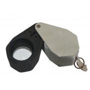 Eye loupe with lights