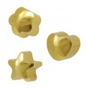 Studex piercing earrings, Ø 4 mm